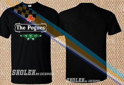 d7c6e544 Limited Edition FUNNY IRISH PUNK MUSIC 'THE POGUES' T-shirt Gildan All Size