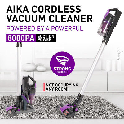 AIKA CORDLESS Vacuum Cleaner Recharge Cordless Handheld Handstick Vac Bagless