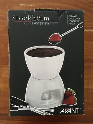 Stockholm Collection Fondue Set Never used- excellent condition