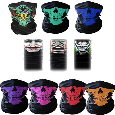 1PC Wholesale Neck Snood Balaclava Head Face Mask Skull Style Scarf Headwear