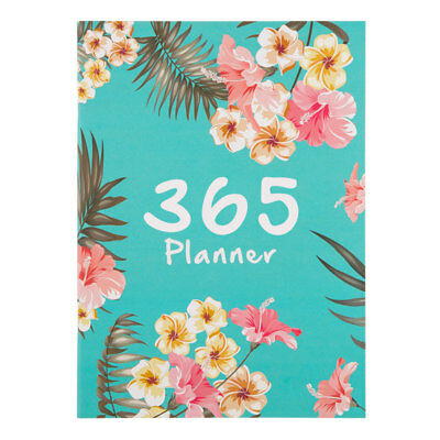 1*365 Days A4 Agenda Schedule Notebook Weekly Planner Diary Organizer Stationery