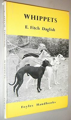 Foyles Handbook Whippets E. Fitch Daglish 1st  First Edition 1960
