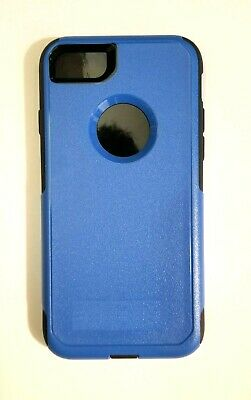 new arrival 5744f b1167 IPHONE 7 IPHONE 8 Blue case w/ Screen Protector (fits otterbox commuter  holster)