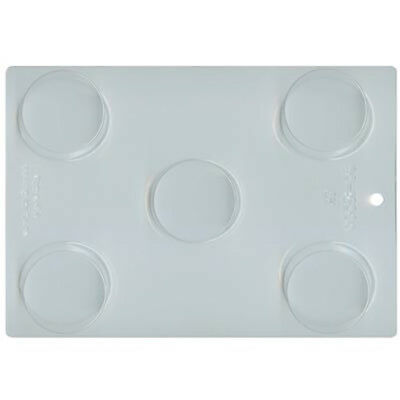 Round Oreo Cookie Chocolate Mould or Soap Mould