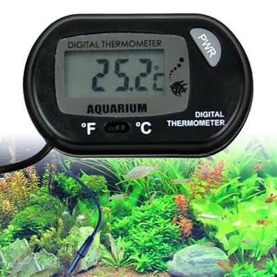 LCD Digital Fish Tank Reptile Aquarium Water Meter Thermometer Temperature UP