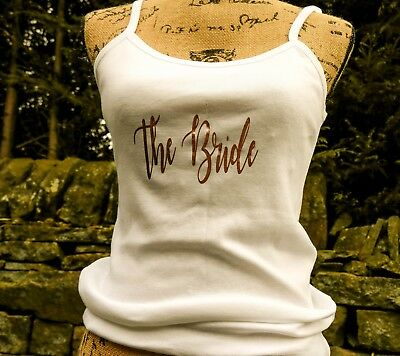 Personalised Vest Hen Party Vest Hen Party t-shirt Personalised