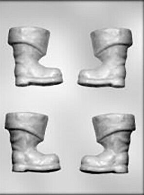 Santa Boot 3D Chocolate Mould or Soap Mould