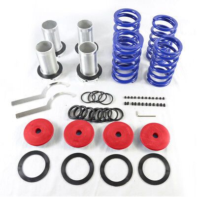 Adjustable Lowering Coilover Coil Spring Kit for Honda 98-02 Accord Red