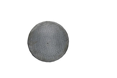 "Cast Iron Surface Plate Round 6"" Dia - Marking Plate Hand Scrapper 150mm - New"