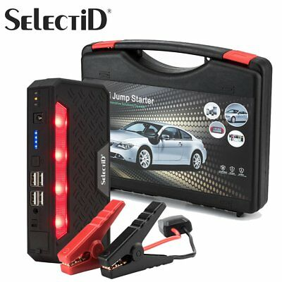 12V 68800mAh Car Jump Starter Engine Emergency Start Battery Power Bank 400A