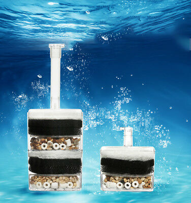 Bio Foam Sponge Internal Filter For Fry Shrimp Fish Tank Aquarium Filtration New