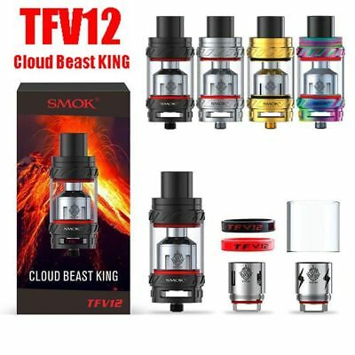 SMOK TFV12 Cloud Beast King Tank 6ml with 3 Coils Head Atomize Tube FULL KIT
