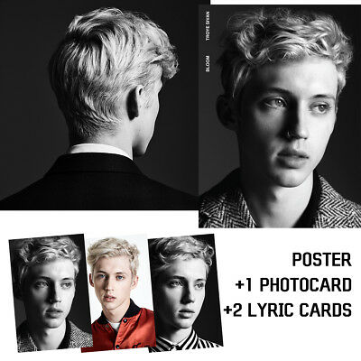 Troye Sivan - Bloom (Korea Cd + Limited Poster & Photocard / Brand New Sealed)