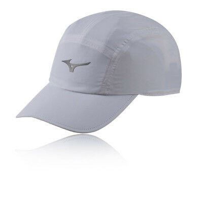 Mizuno Unisex DryLite Running Cap Grey Sports Breathable Lightweight