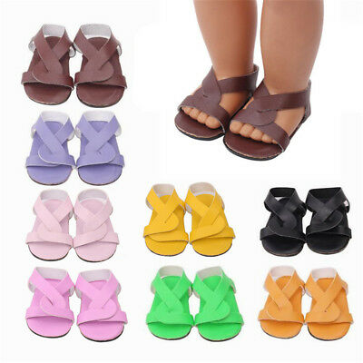 HOT Doll Shoes Sandals Accessories For 18 Inch Our Generation American Girl Doll