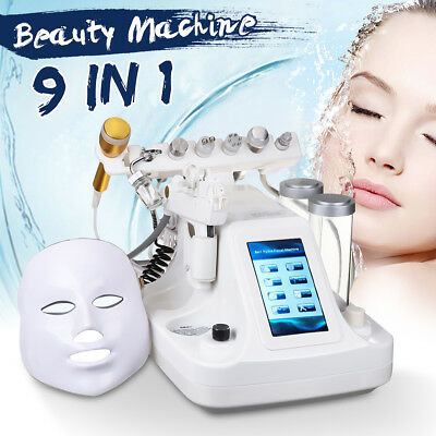 9 in 1 Hydra Dermabrasion Aqua Peel Clean Skin Care BIO light RF Beauty Machine