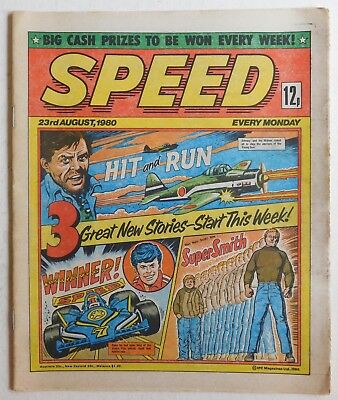 SPEED COMIC - 23 August 1980