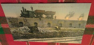 Old Leisenring Pa. No.1 Frick Mine Coke Ovens Connellsville Coal Postcard Repo