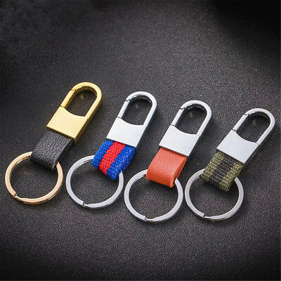 Clip Keyring With Strap Outdoor Belt Loop Key Chain Carabiner Holder Karabiner