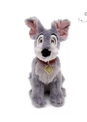 Disney Tramp From Lady And The Tramp Mini Plush Bean Bag Soft Toy