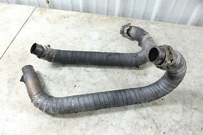 12 Moto Guzzi Stelvio NTX 1200 muffler pipe exhaust headers right left