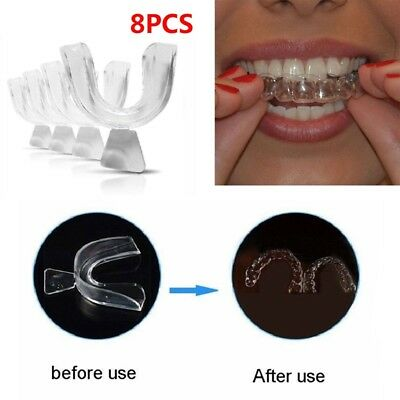 Dental Guard Teeth Whitening Trays Tooth Bleaching Gum Shields Mouth Care