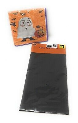 Halloween Despicable Me Minions Party Decorations - Napkins & Table Cover Bundle