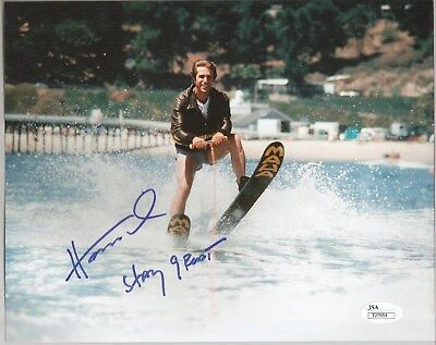 Henry Winkler Signed Happy Days 8X10 Autographed Photo JSA The Fonz Jump Shark