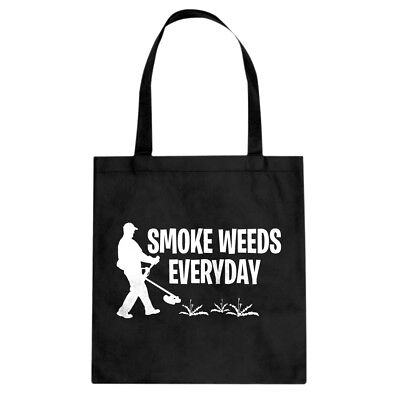 Smoke Weeds Everyday Cotton Canvas Tote Bag #3672