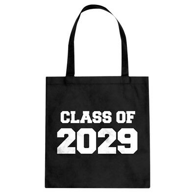 Class of 2029 Cotton Canvas Tote Bag #3738
