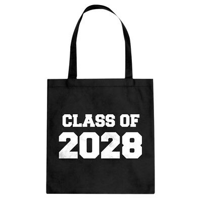 Class of 2028 Cotton Canvas Tote Bag #3737