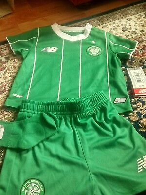 Celtic FC 2015 away children football full kit 6-12 months