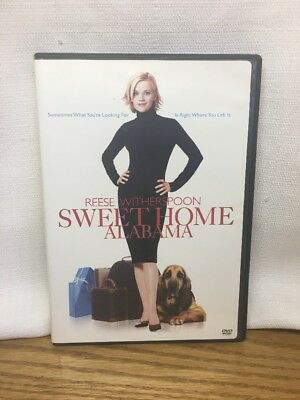 (CQ) SWEET HOME ALABAMA  DVD Reese Witherspoon; DVD In Really Good Condition