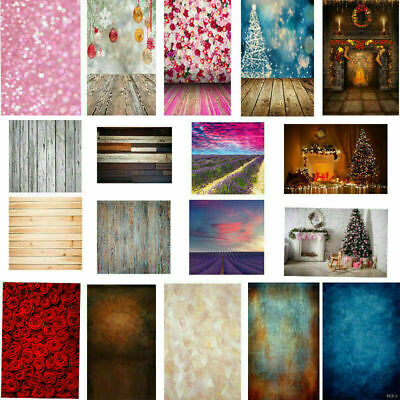 Vintage Wood Baby Background Xmas Photography Wedding Backdrops Kids Photo Props
