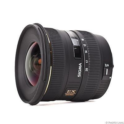 Sigma 10-20 mm f4-5.6 Ex Dc Digital HSM Wide Angle Zoom Lens for Canon