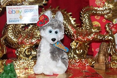 "Ty 2.0 Beanie Baby Sledder The Dog-6""-Unused Code-2007/2008-Mwnmt-Nice Gift"