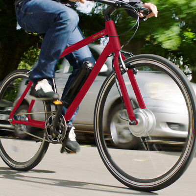Aerobike X-Ride Red Electric E Bike 250W Pedal Assisted 30 Mile Battery GRADE B