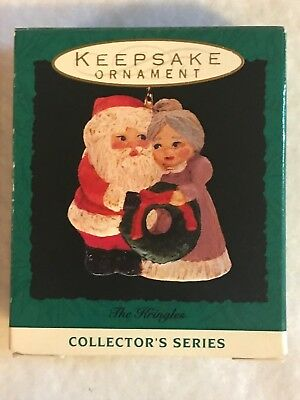 The Kringles Mr. And Mrs. Claus Hallmark Keepsake #5 In Series 1993 New In Box