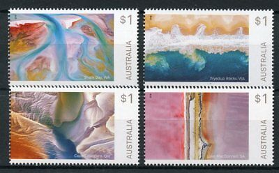 Australia-silo Art Mnh 2018 Issue Topical Stamps