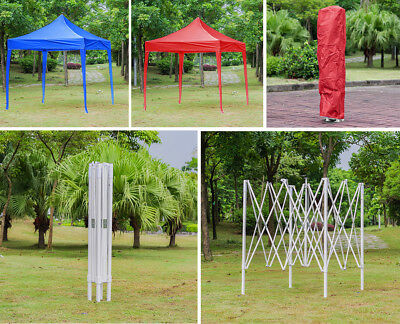 2X2m 2.5X2.5m 3X3m Waterproof Pop Up Gazebo Marquee Garden Awning Party Tent UK