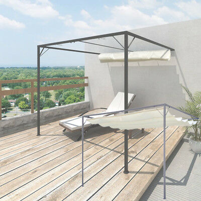 alu 3x3 m pavillon garten markise sonnenschutz terrassen berdachung sonnensegel eur 379 00. Black Bedroom Furniture Sets. Home Design Ideas