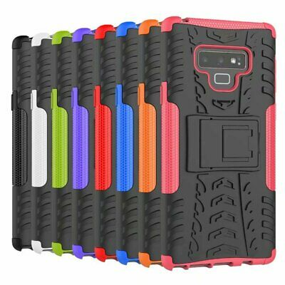 Shock Proof Heavy Duty Armour Hybrid Case Cover For Various Samsung Galaxy
