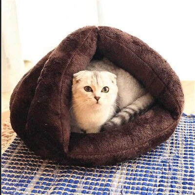 Cat Dog Pet Puppy Cute Soft Bed Cushion Cave House Sleeping Mat Pad Size S/M NEW