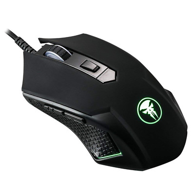Gaming Mouse USB Wired Mice with DPI Ergonomic for Computer Laptop PC Black New