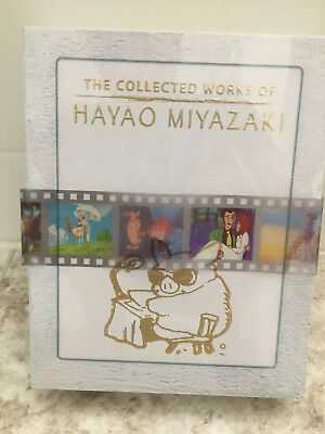 The Collected Works of Hayao Miyazaki 11 Movies Exclusive Content Box (Blue Ray)