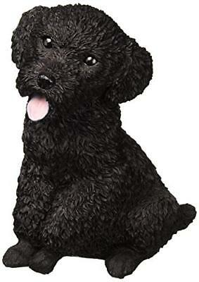 Puppy Dog Garden Statue Cute Poodle Outdoor Indoor Home Backyard Patio Decor
