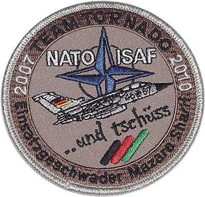 Aufnäher Patch ISAF EG Mazare Sharif Team Tornado 2007 - 2010 ........A3455