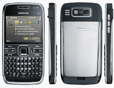 Nokia E72 Cheap Mobile Smartphone-On O2/tecso/giffgaff With New Chargar&warranty