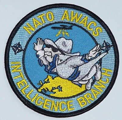Aufnäher Patch NATO AWACS E-3A INTELLIGENCE BRANCH ...........A2436