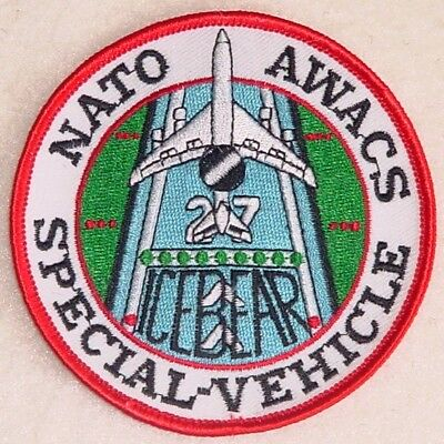 Aufnäher Patch NATO AWACS E-3A SPECIAL - VEHICLE ...........A2277